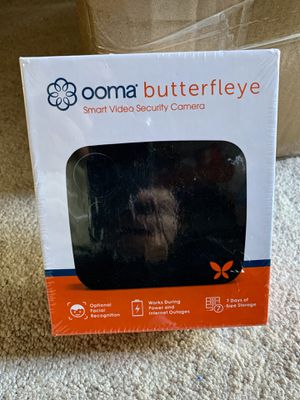 NEW OOMA BUTTERFLEYE SMART SECURITY CAMERA for Sale in Stockton, CA