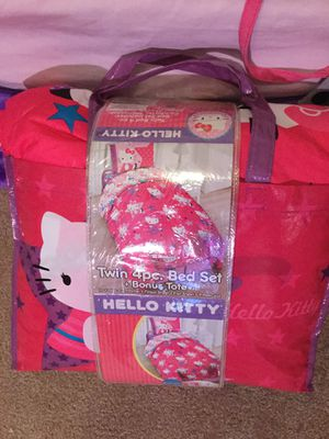 Hello Kitty Twin Bed Set for Sale in Kent, WA