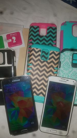2 Samsung galaxy s5 Verizon for Sale in Abilene, TX