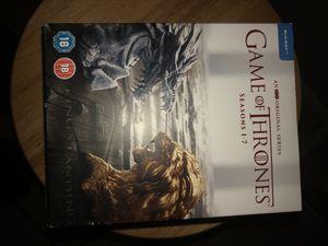 Game of Thrones season 1-7 for Sale in Dallas, TX