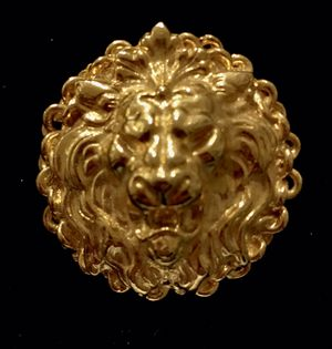 Golden Lion Brooch Pin for Sale in Austin, TX