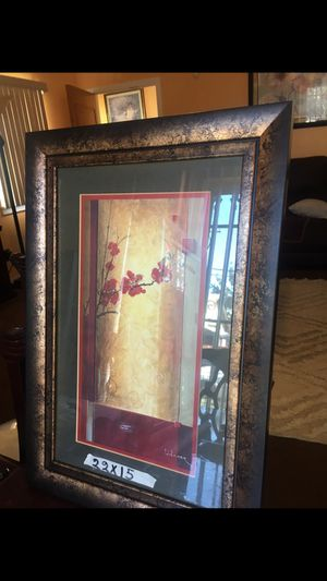Three wall frames for Sale in Los Angeles, CA