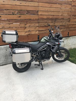 2016 tiger triumph adventure motorcycle for Sale in Bothell, WA