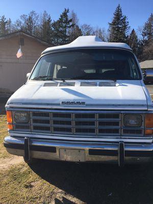 Dodge camper van 1992 for Sale in Bellingham, WA