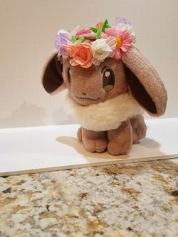 Flower Eevee Plush for Sale in Ceres,  CA
