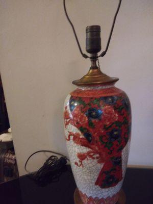 Beautiful Antique Asian lamp for Sale in Augusta, GA