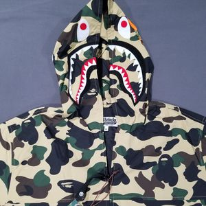 BAPE 1st Camo Jacket Shark Hoody Yellow for Sale in Chicago, IL