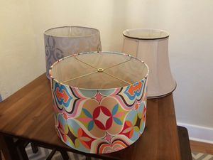 Lamp shades for Sale in Dinuba, CA