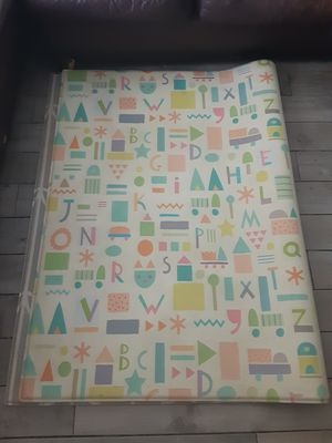 Reversible infant/child play mat for Sale in Melbourne, FL