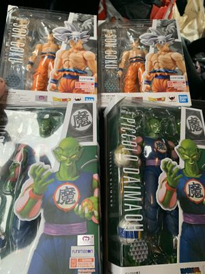 Dragonball S.H.Figuarts $50 each Goku & Piccolo for Sale in Mendota Heights, MN