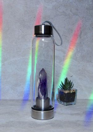 NEW Crystal Healing Water Bottles for Sale in Arlington, TX