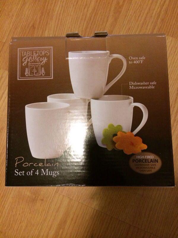 Set of 4 mugs new☕️