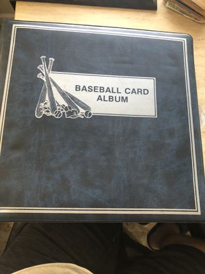 Baseball Cards(WHOLE BINDER) Over 300+ cards for Sale in Huntington Park, CA