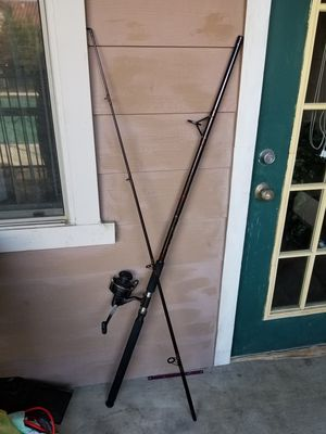 Fishing rod and reel for Sale in Dallas, TX