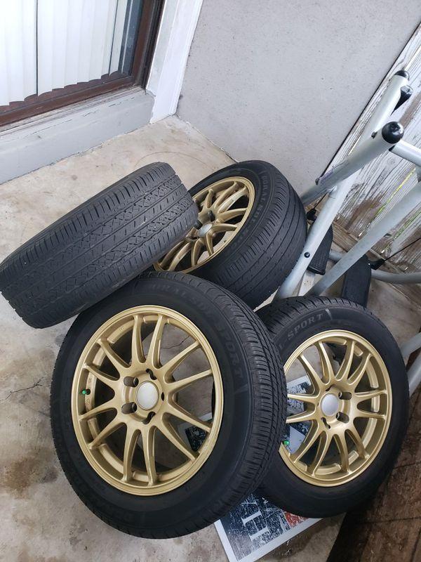 Honda crv, Honda civic. 220/55/17. 5x100