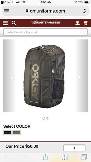 Oakley black backpack for Sale in Oak Lawn, IL