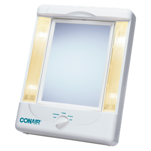 Conair Lighted Makeup Beauty Mirror 4 Settings Double Sided Vanity Magnifying for Sale in Jacksonville, FL