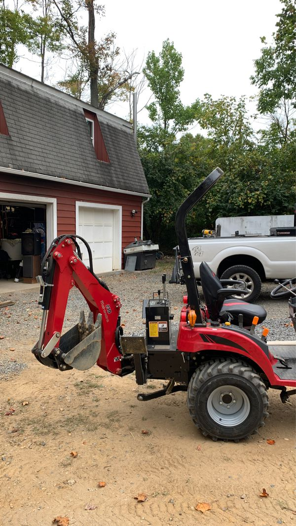 Compact Tractor/Loader/Backhoe