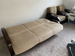 Set of 3- Living Room Sofa and Love Seats for Sale in Houston, TX