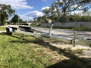 New 2020 trailer Mania triple axle 31-33ft. Brakes, Torsion. Ready. Call for price for Sale in Fort Lauderdale, FL