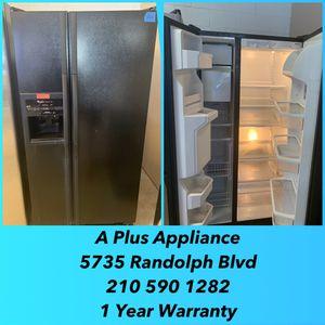 Whirlpool Side By Side Refrigerator 1 Year Warranty for Sale in San Antonio, TX