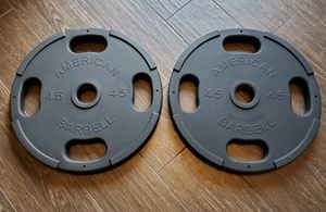 OLYMPIC WEIGHT PLATES for Sale in Riverside, CA