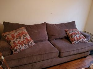 Couch and love seat...must go!! for Sale in Brandon, FL