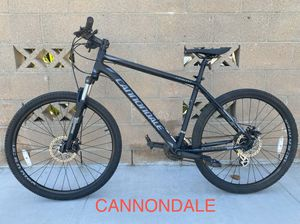 Cannondale Disc brake Large aluminum mountain bike large for Sale in Hawthorne, CA