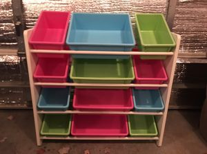 Kids toy organizer for Sale in Brooklyn Park, MN