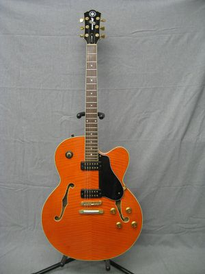 Yamaha AES1500 Electric Jazz Guitar Orange Made in Japan for Sale in Los Angeles, CA