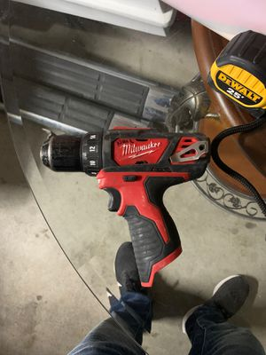 M12 Milwaukee Drill/Driver tool only for Sale in Modesto, CA