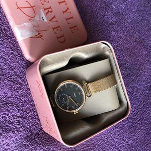 Fossil Women's Watch Black/gold Mesh bracelet NEW IN BOX for Sale in Gardena, CA