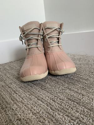 Pink Women's Sperry Duck Boots, Brand New, Size 7 for Sale in Kansas City, MO