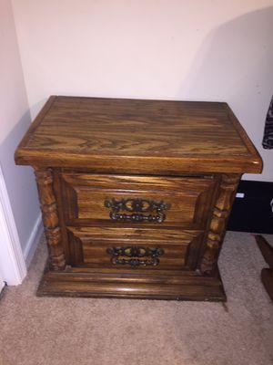 Solid Oak King size Bedroom Set for Sale in Midlothian, VA