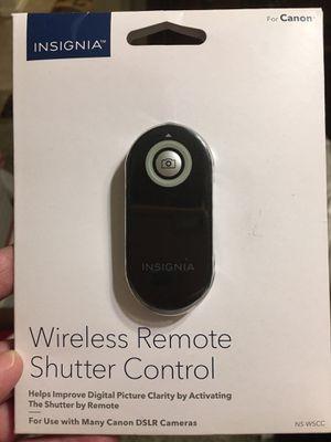 Insignia Wireless Remote Shutter Control for Sale in Cave Creek, AZ