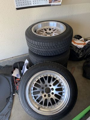 4x100 15 Inch JNC RIMS for Sale in Bloomington, CA
