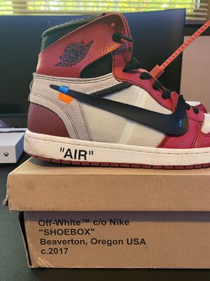 Off-White Chicago 1's Size 11 for Sale in Edmonds, WA