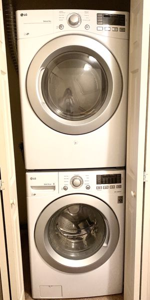 LG washer and dryer.. with catalog and 5 years warranty! for Sale in Princeton, NJ
