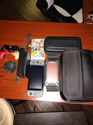 Nintendo Switch Bundle $400 Zelda and Smash BROS for Sale in Tampa, FL