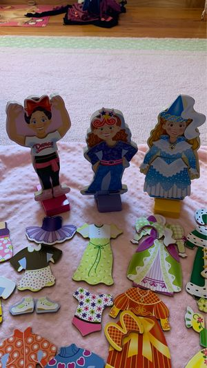 Melissa and Doug magnetic dolls for Sale in Saint Paul, MN