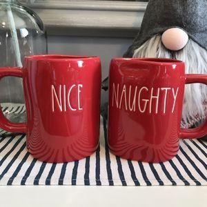 Rae Dunn Naughty and Nice Mugs! for Sale in Santa Ana, CA