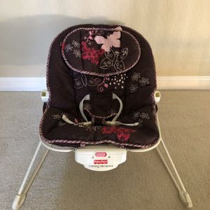 Fisher Price Baby Bounce, Brown for Sale in San Mateo, CA