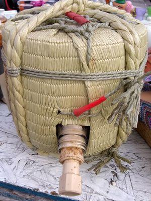 Antique authentic Japanese sake keg for Sale in Gaston, SC