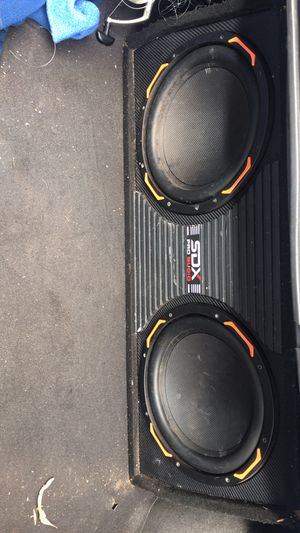 2 12's SDX Pro Audio for Sale in Parkland, FL