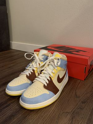 Nike Air JORDAN 1 MID SE FEARLESS MAISON CHATEAU ROUGE for Sale in Lacey, WA