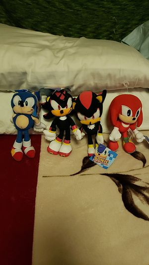 """Sonic 8"""" Plushies for Sale in Los Angeles, CA"""