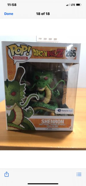 POP Dragonball Z. Shenron Figurine for Sale in Bolingbrook, IL