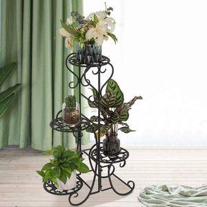Metal Floor Standing, Indoor/Outdoor Flower Pot Rack for Sale in Fremont, CA