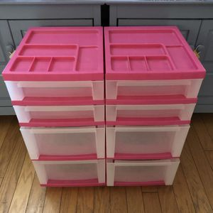 4 drawer rolling storage carts for Sale in Santa Maria, CA