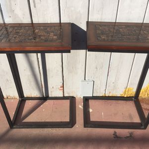 Two Side Tables In Good Condition for Sale in Fresno, CA